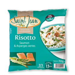 Risotto Saumon & Asperges Vertes - 700g