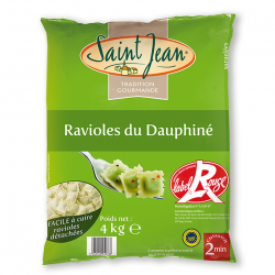 Ravioles du Dauphiné surgelées IGP / Label Rouge - 4kg