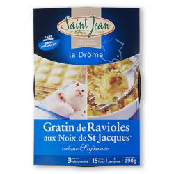 Gratin de Ravioles aux Noix de Saint Jacques - 290g