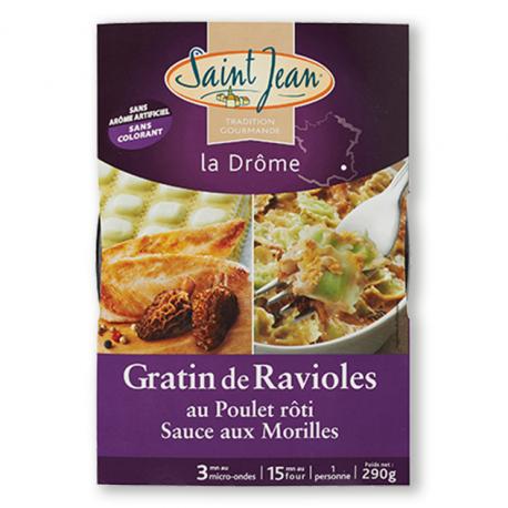 Gratin de Ravioles au Poulet rôti - 290g