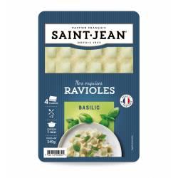 Ravioles au Basilic  4 plaques - 240g