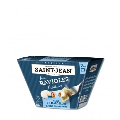 Box Ravioles sauce Saint Marcellin et Noix - 300g
