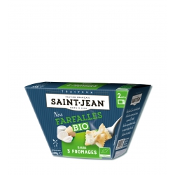 Box Farfalles aux Fromages BIO - 300g