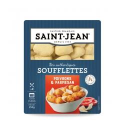 Soufflettes Poivrons et Parmesan