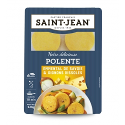Polente Emmental de Savoie & Oignons rissolés - 240g