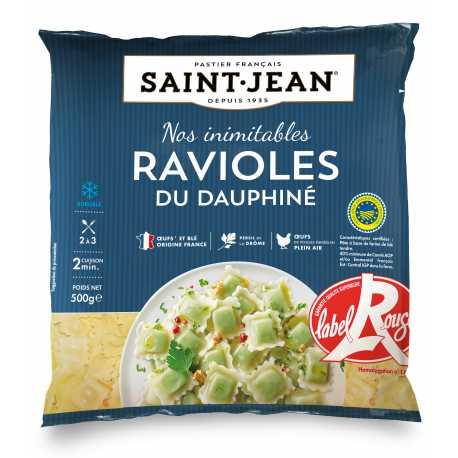 Ravioles du Dauphiné surgelées IGP / Label Rouge - 500g