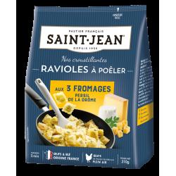 Ravioles à poêler aux 3 fromages Persil de la Drôme - 310g