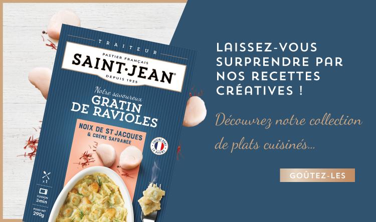 Les recettes créatives Saint Jean