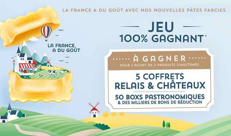 JEU 100% GAGNANT - LA FRANCE A DU GOUT AVEC SAINT JEAN